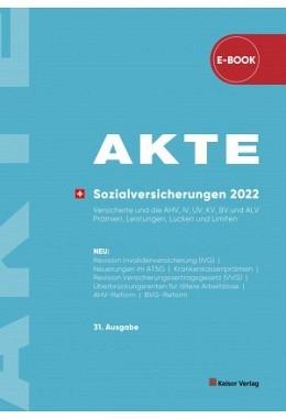 AKTE Sozialversicherungen 2022 (eBook)